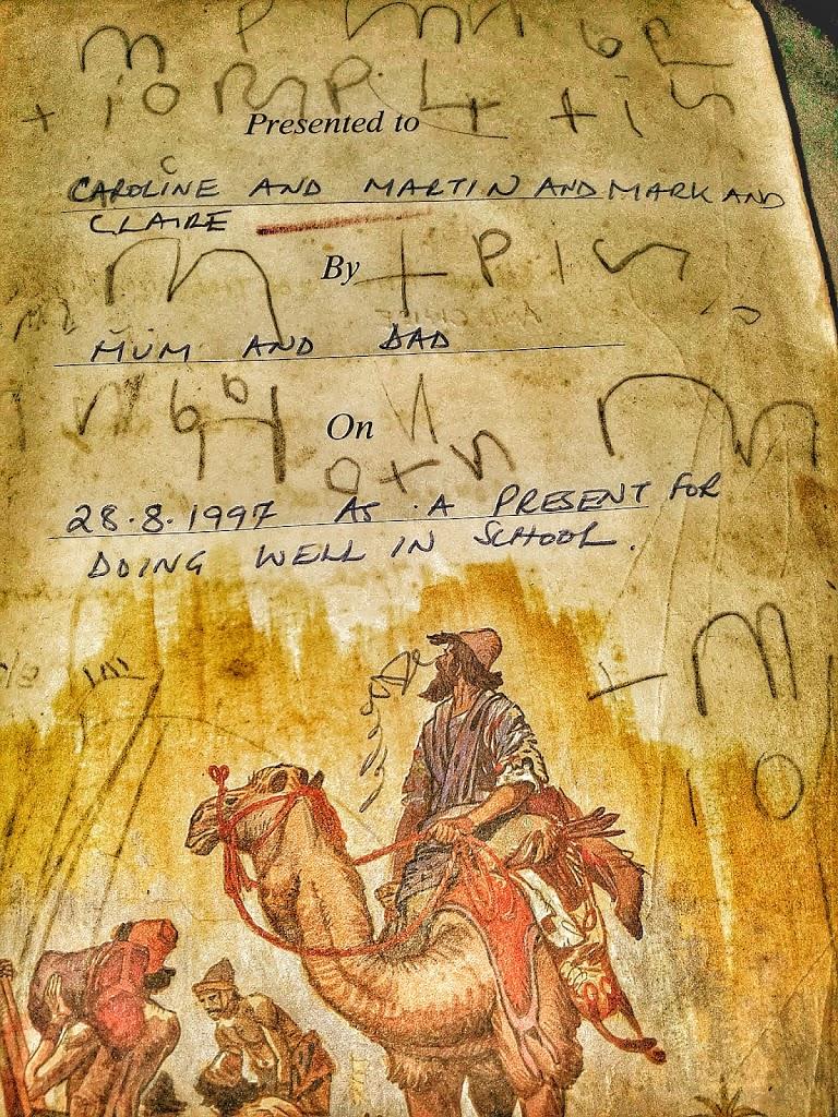 Children's Bible that has been handed down generations