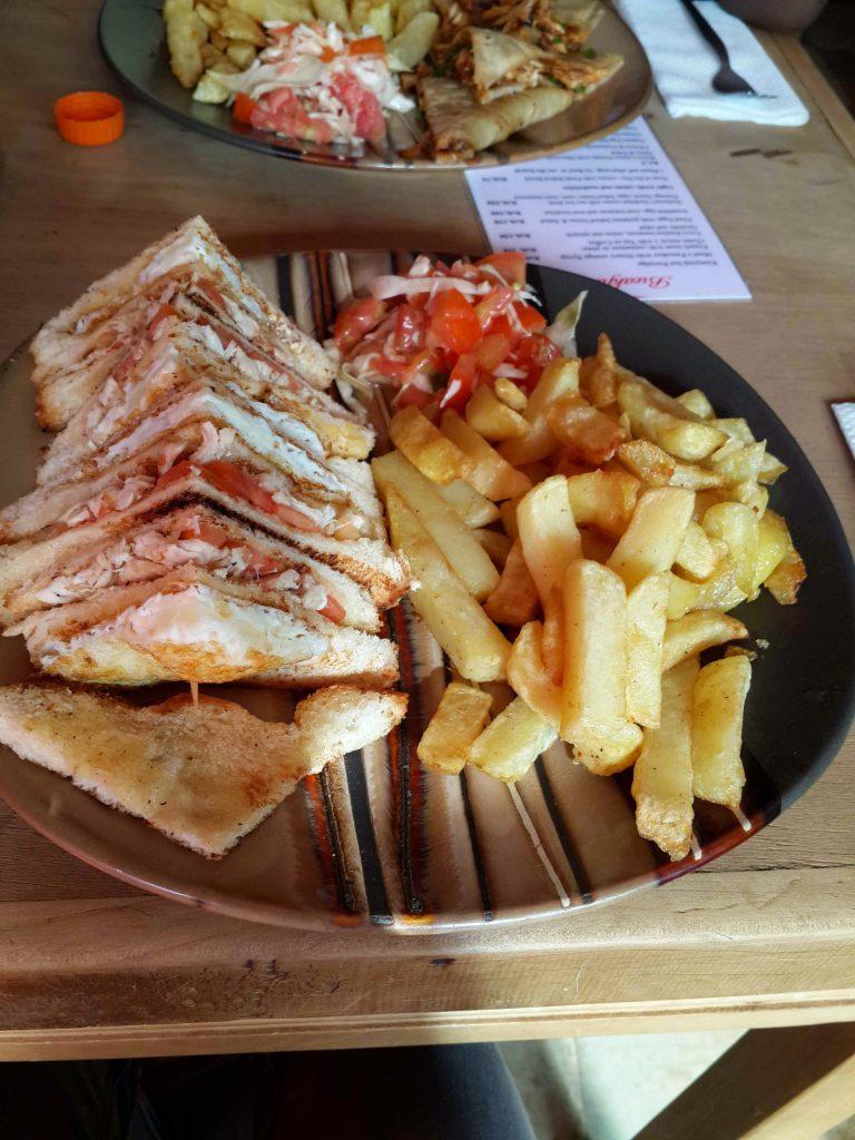 Crave Kitchen -Club Sandwich
